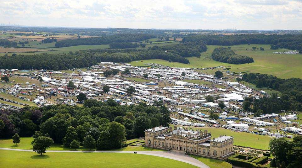 CLA Game Fair at Harewood House in Yorkshire