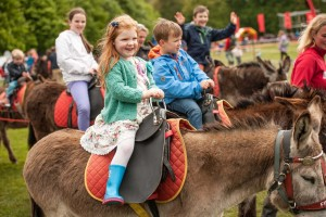 Family days out at Harewood, Yorkshire