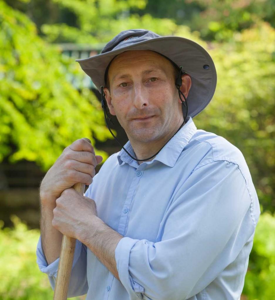 Trevor Nicholson, Head Gardener at Harewood House