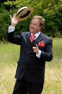 Justin Fletcher at Harewood, Yorkshire