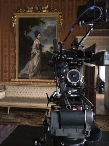 Harewood House is used as a location for ITV's Victoria