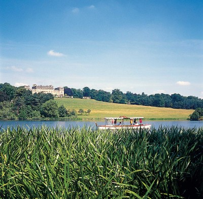 Enjoy a boat trip at Harewood