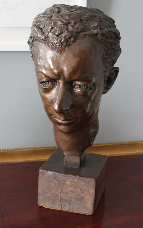 Harewood House near Harrogate has bronze sculptures by George Ehrlich