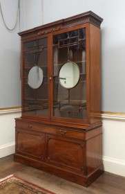 Visit Harewood House in Leeds to see Chippendale cabinets