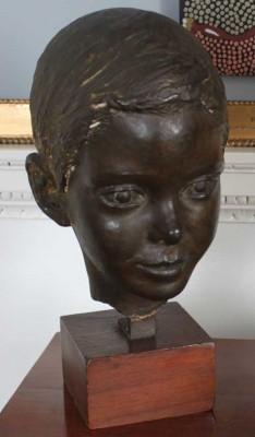 Harewood House near Harrogate has sculpture of David Lascelles