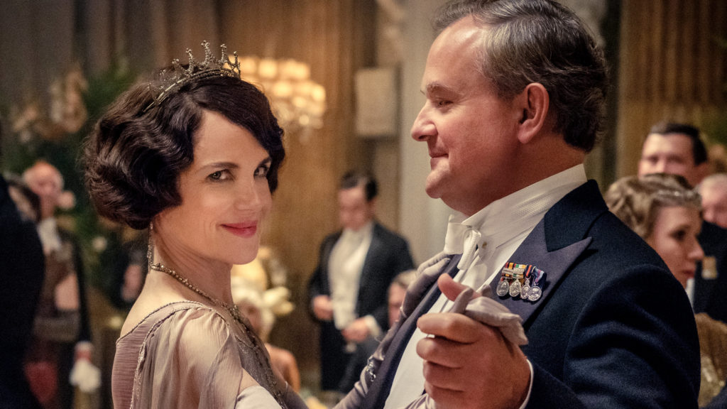 Downton Abbey film screening at Harewood House, Leeds