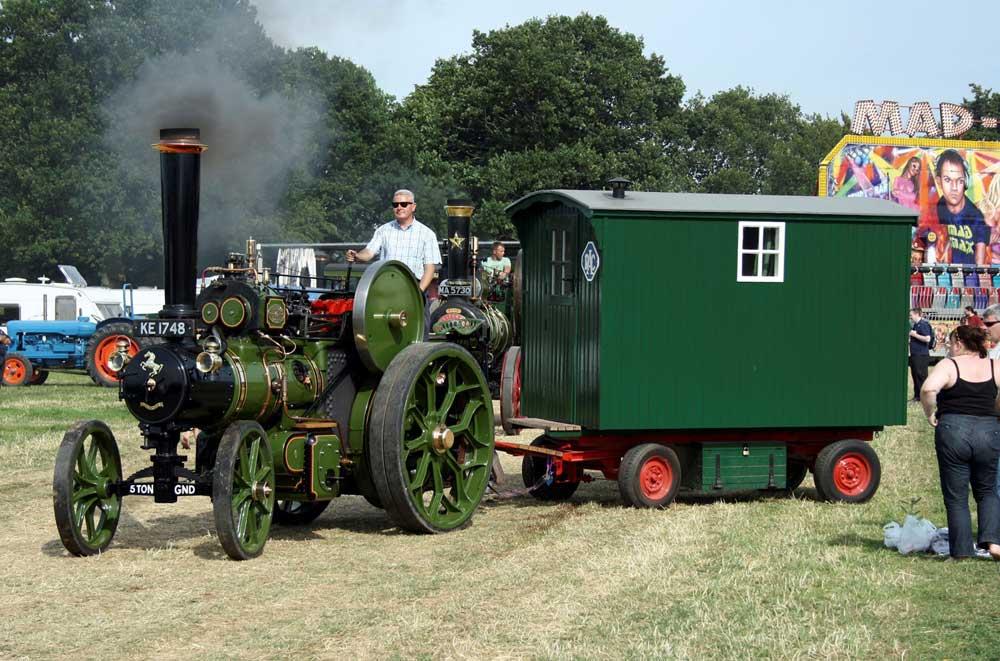 The Steam Fair at Harewood