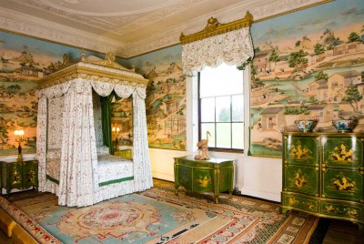 Harewood House near Harrogate is home to a carpet from 1830