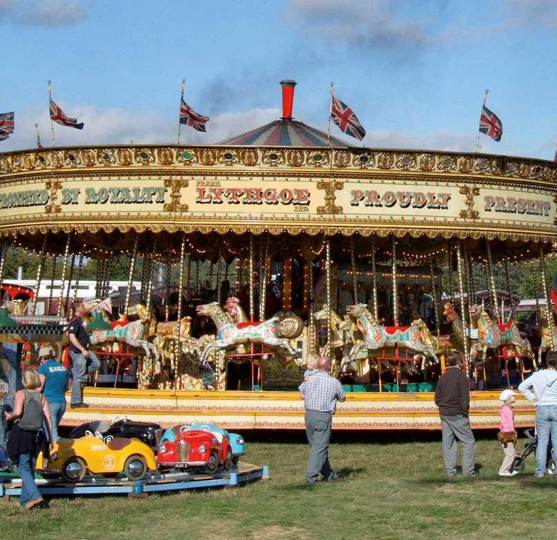Carousel at Harewood, Leeds