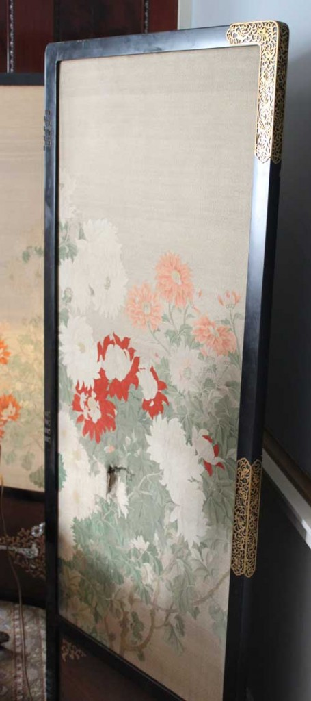 Visit Harewood House to see a Japanese screen