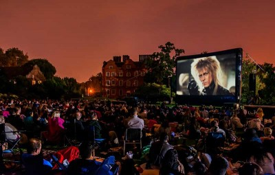 Visit Harewood House to watch open air cinema