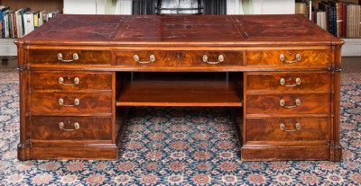 See 19th century desks at Harewood House in Leeds