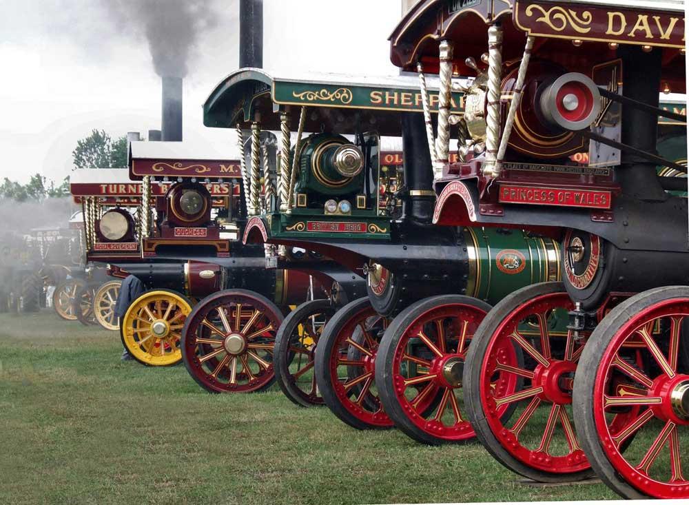 Steam Fair at Harewood House, Leeds