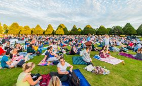 Open Air Cinema in Leeds, West Yorkshire