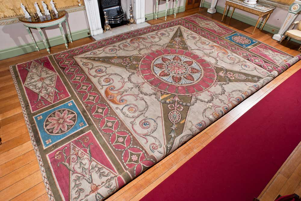 Harewood House has an axminster carpet
