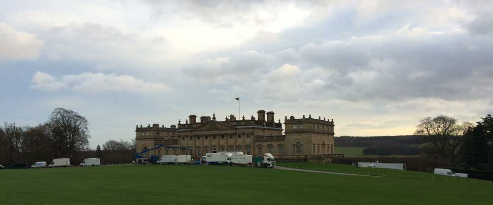 Harewood House is a filming location