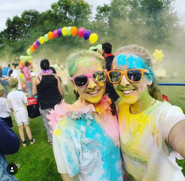 St Gemma's Colour Run at Harewood, Yorkshire