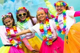 St Gemma's Hospice Colour Run at Harewood