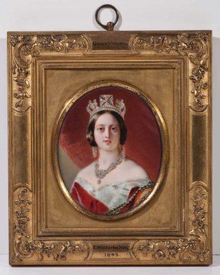 Miniature of Queen Victoria