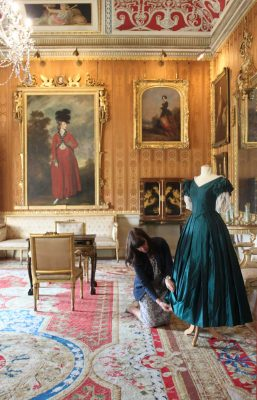 Victoria on ITV filmed at Harewood in Yorkshire