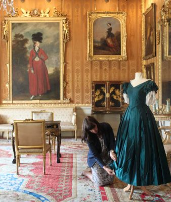 Visit Harewood in Yorkshire to see costumes from Victoria