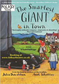 Smartest Giant in Town, outdoor theatre at Harewood, Leeds