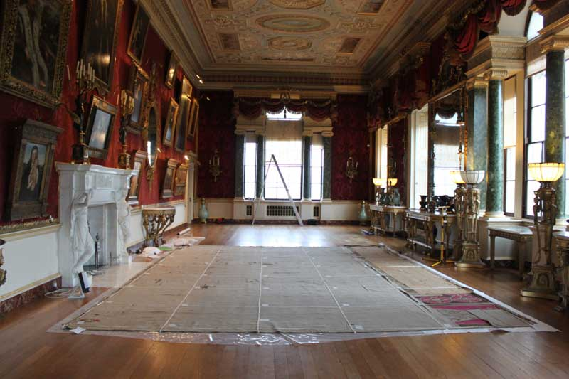 Visit Yorkshire to see rare Axminster Carpets