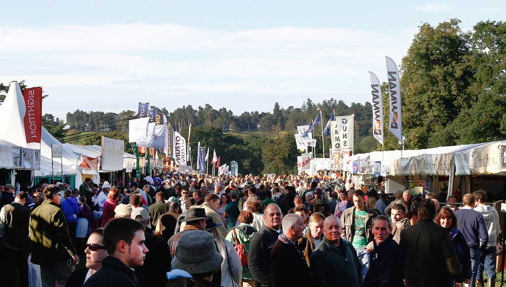 The Country Show at Harewood near Leeds