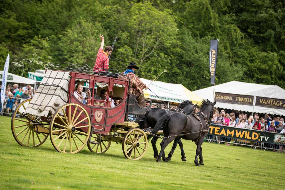 Countryshow at Harewood, Yorkshire