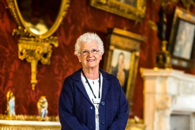 Harewood House in Yorkshire has volunteeres