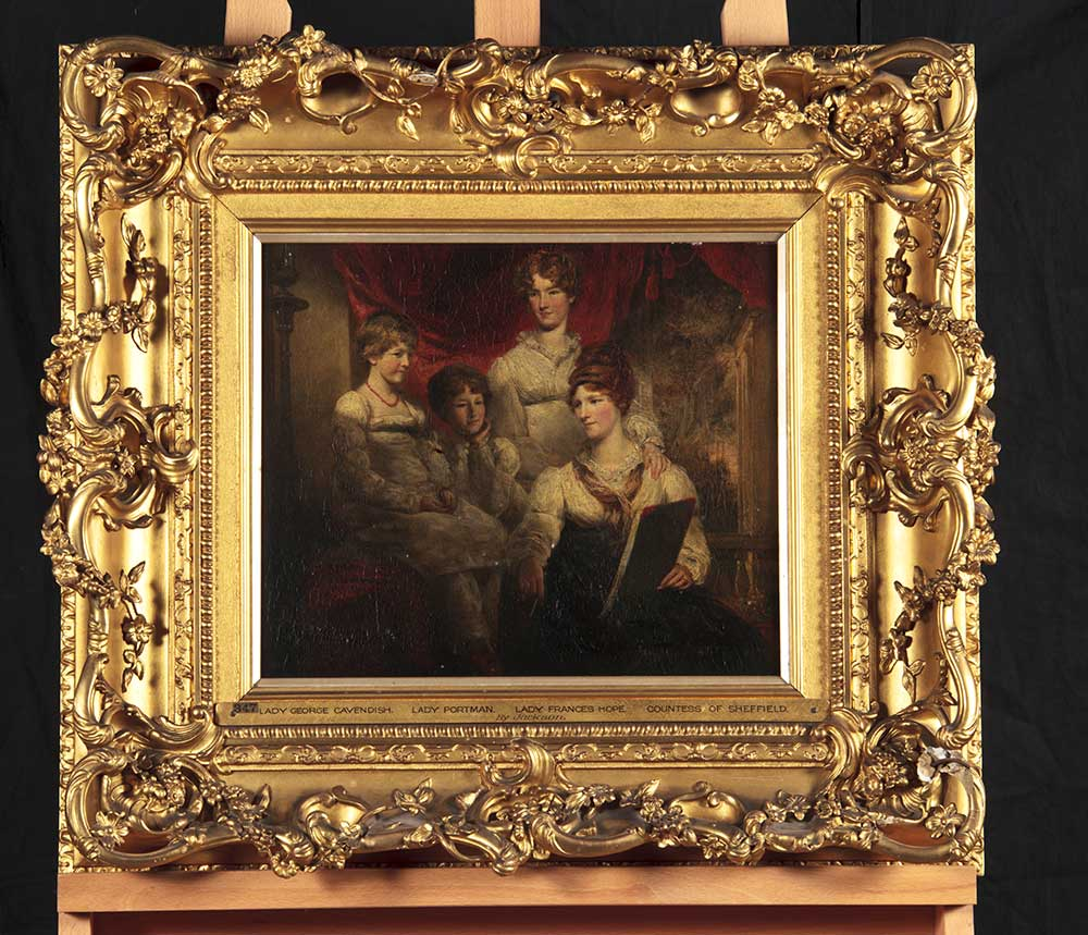 The Four Daughters of the 2nd Earl of Harewood