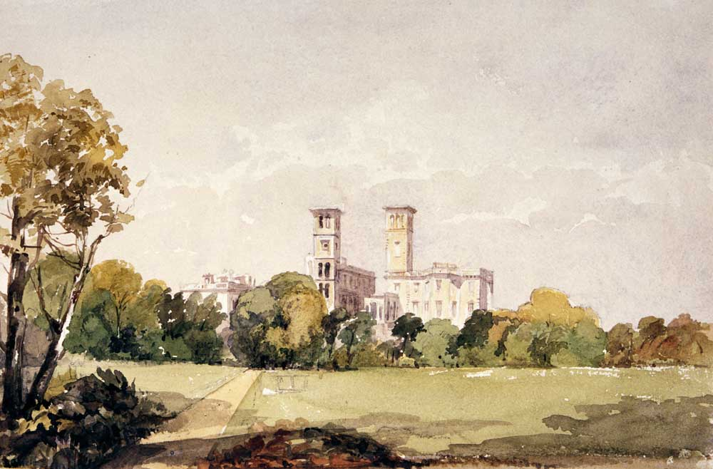 Visit Leeds to see paintings of Osborne House at Harewood