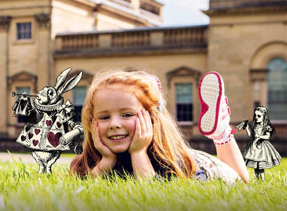 Visit Harewood House in Yorkshire to enjoy Alice in Wonderland summer activities