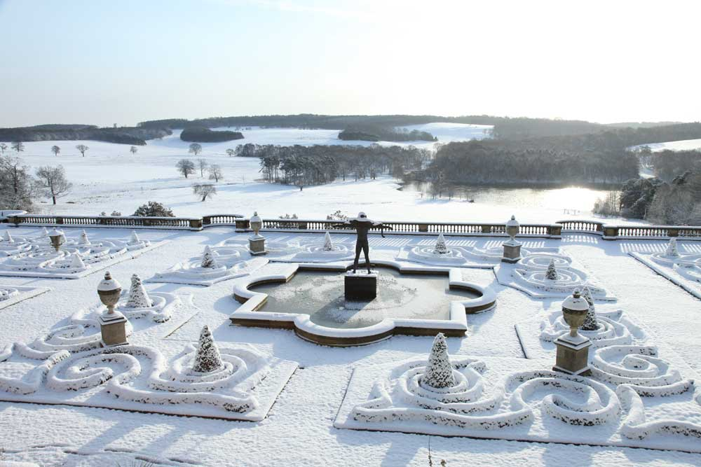 Visit Harewood House for a Christmas event