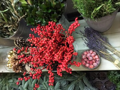 Christmas Floristry Workshop with Leafy Couture