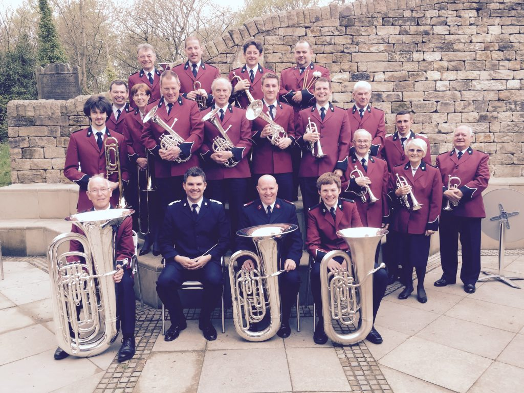 Leeds Central Band of The Salvation Army at Harewood, Leeds