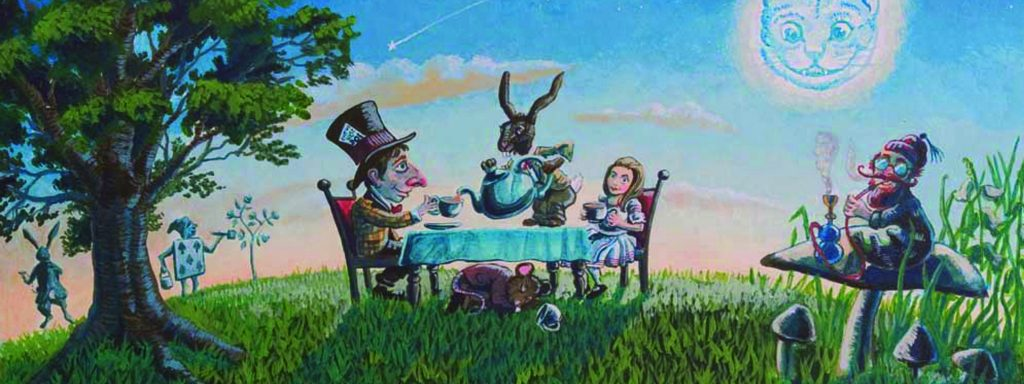 Alice's Adventures in Wonderland Outdoor Theatre at Harewood House, Leeds