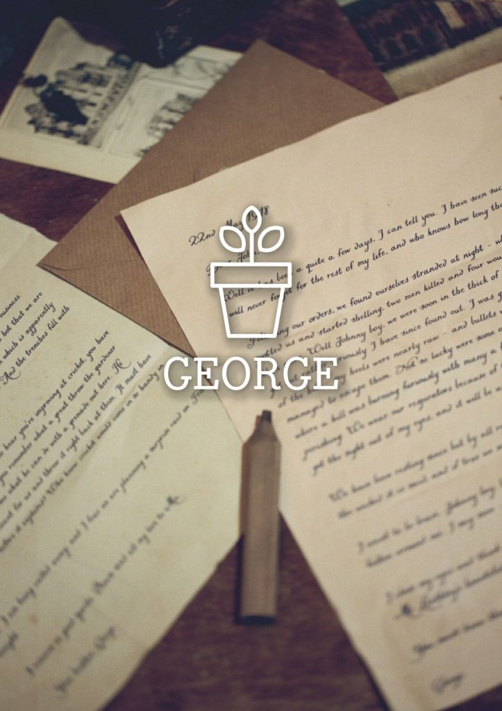George character Seeds of Hope