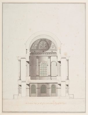 Architectural Drawing Temple of Venus