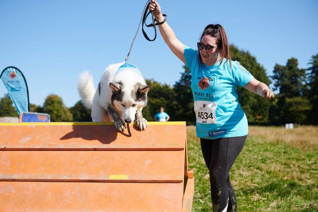 Fun run at Harewood House with Battersea Dogs Home