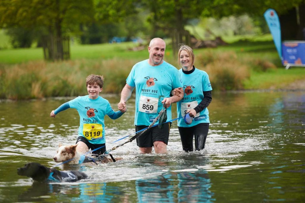 Muddy Dog Challenge at Harewood House, Leeds