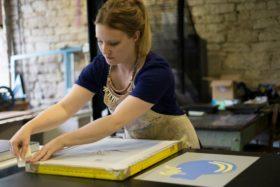 Crafting Patterns, artist Harriet Lawton