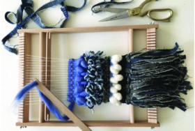Frame Weaving Workshop from Waste with Maria Sigma