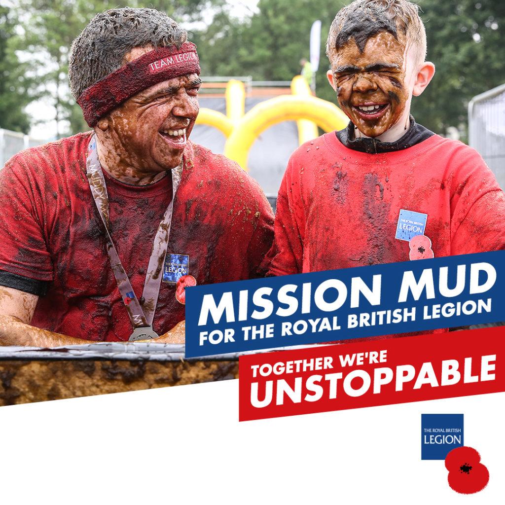 Children's mud fun run at Harewood, Leeds