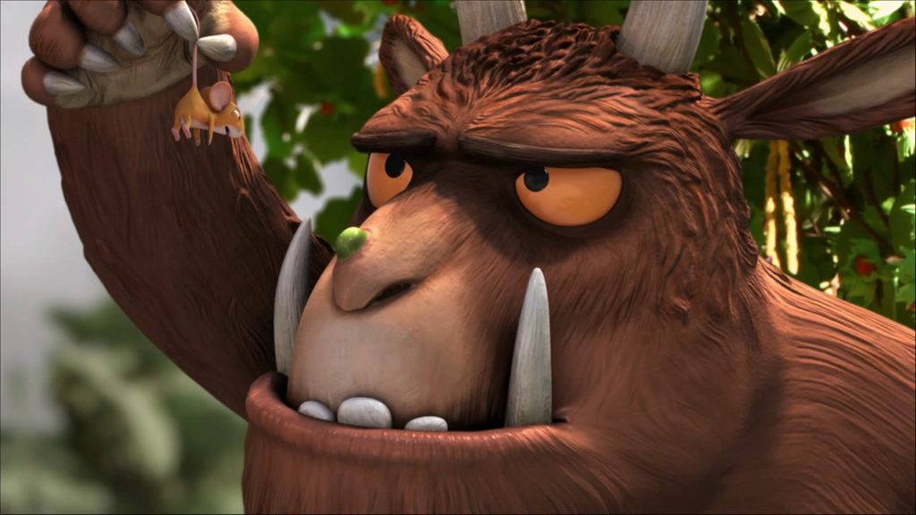 Gruffalo open air cinema at Harewood House, Leeds