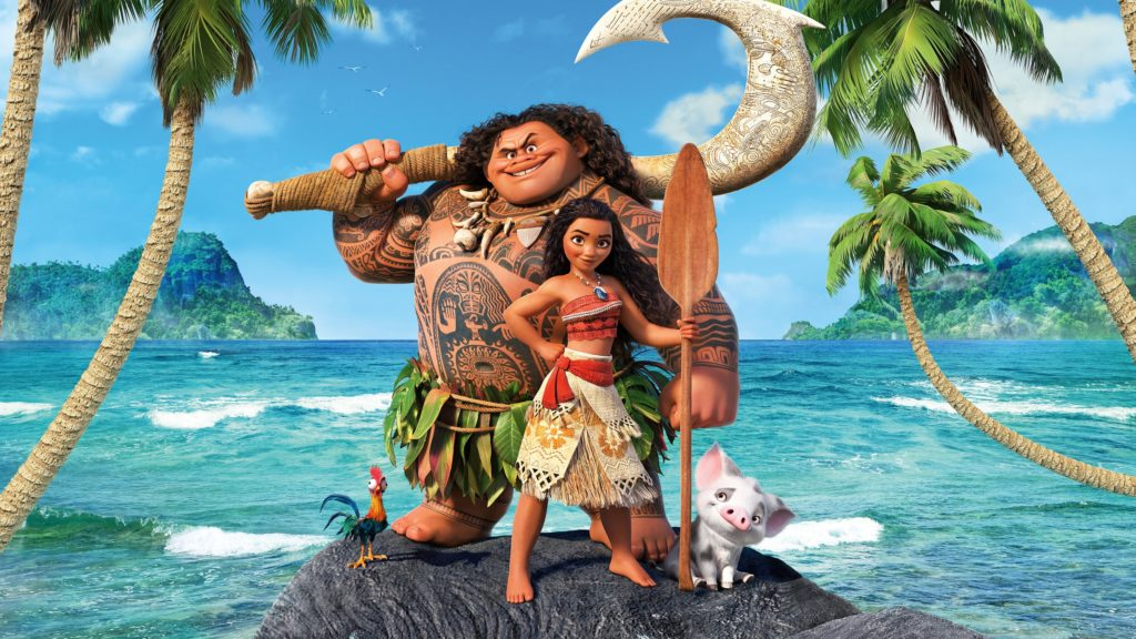 Moana kids open air cinema at Harewood House, Leeds