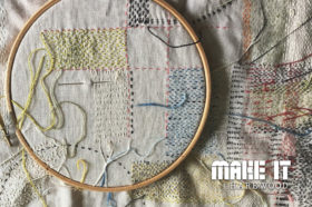 Stitching with Claire Wellesley Smith