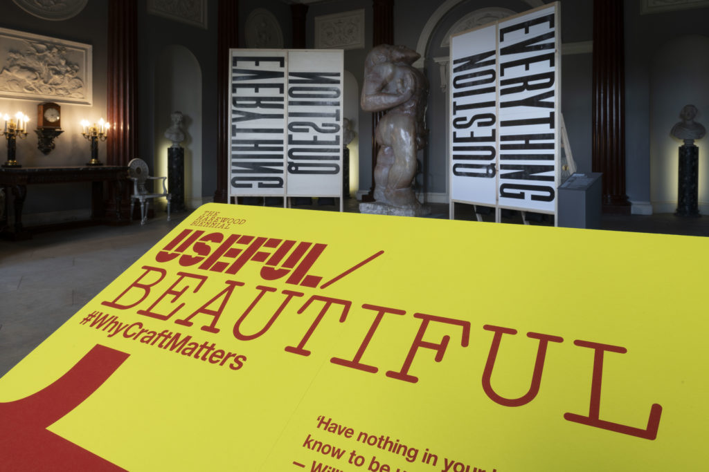 See for yourself behind the scenes at our Useful/Beautiful exhibition