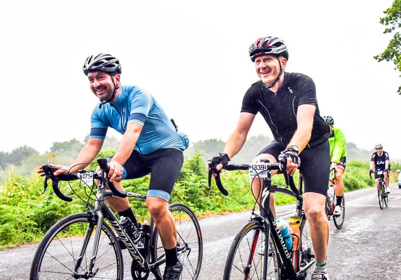 Leeds 100 cycle sportive at Harewood