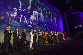 A night at the movies: Downton Abbey première